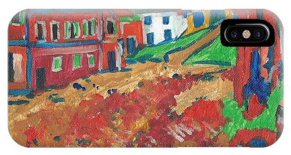 IPhone Case featuring the painting Fauvism by Janelle Dey