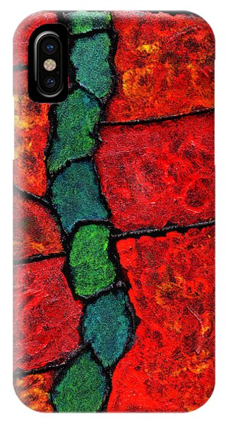 Faux Tile Painting One IPhone Case