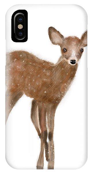 Wild Life iPhone Case - Fawn by Bri Buckley