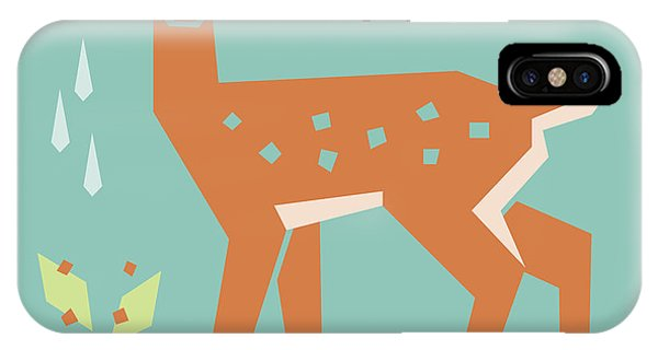 Holidays iPhone Case - Fawn In The Meadow by Mitch Frey
