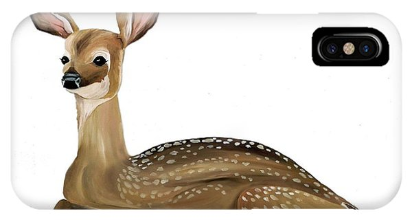 Fawn With No Background IPhone Case
