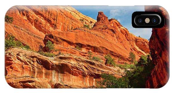 Fay Canyon Sandstone, Sedona, Arizona IPhone Case