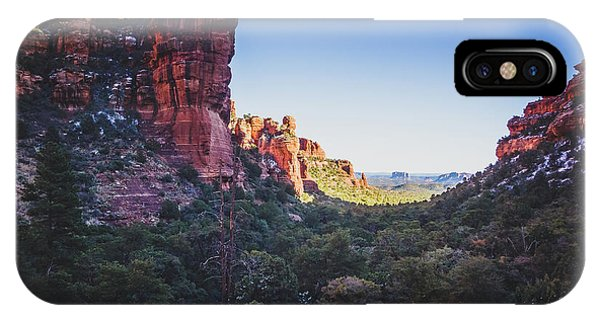 Fay Canyon Vista IPhone Case