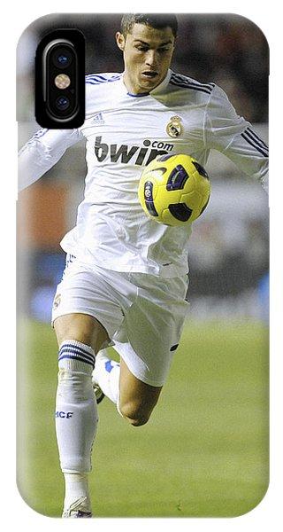 Cristiano Ronaldo iPhone Case - Cristiano Ronaldo 23 by Rafa Rivas