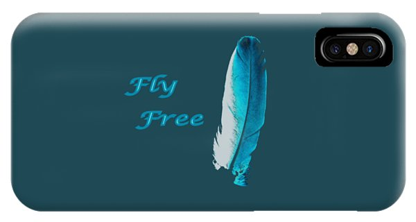 Feather Of Free Flight IPhone Case