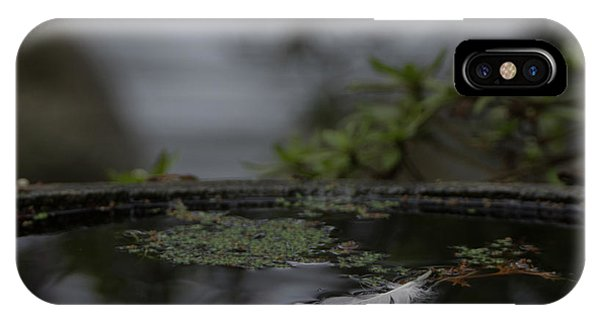 A Feeling Of Floating Weightlessly IPhone Case