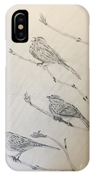 Feathers Friends IPhone Case