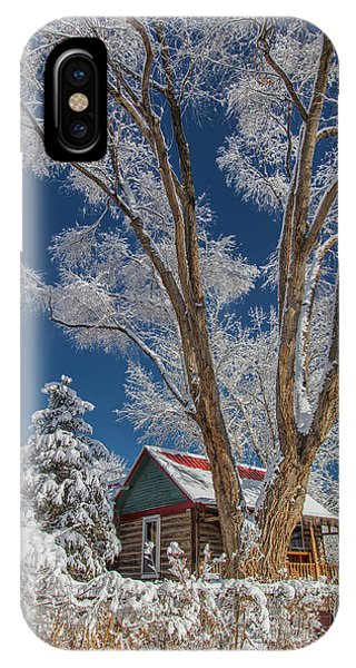 Feathers In The Sky IPhone Case
