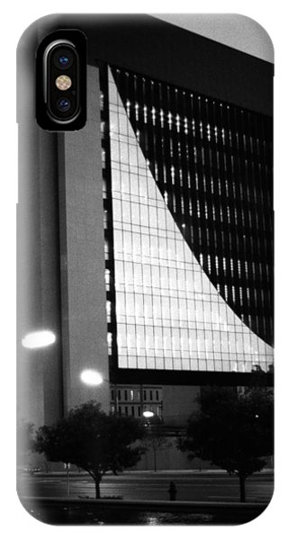 IPhone Case featuring the photograph Federal Reserve Building At Twilight by Mike Evangelist