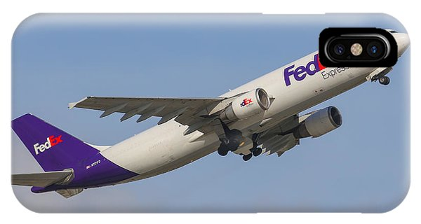 Fedex Airplane IPhone Case