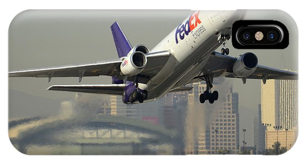 Fedex Express Md-10-10f N10060 Phoenix Sky Harbor December 2 2015 IPhone Case