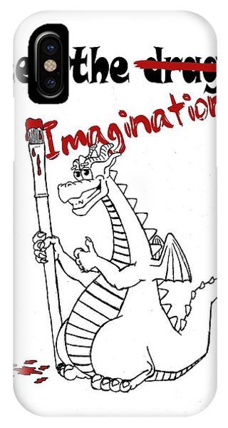 Feed The Imagination IPhone Case