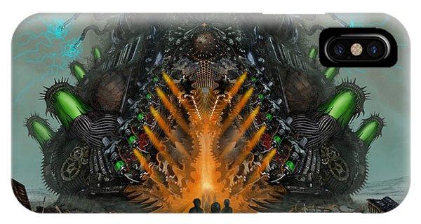 Feeding The Juggernaut IPhone Case