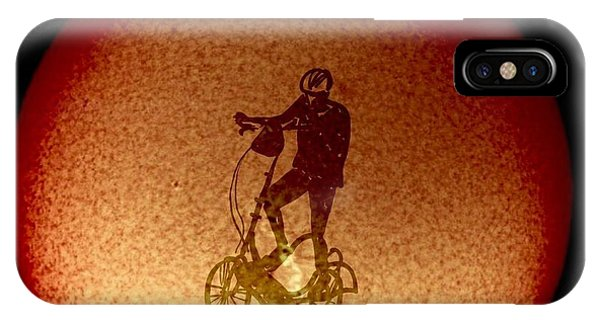 Feel The Burn, Elliptigo Eclipse IPhone Case