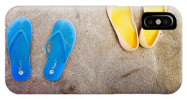 Feet Around The World #23 IPhone Case