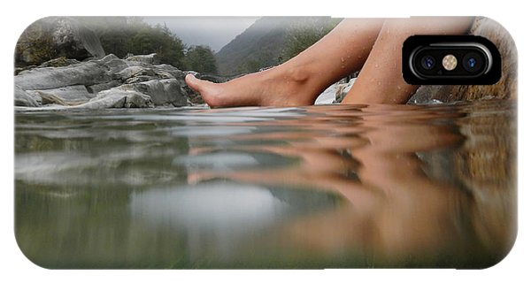 Feet On The Water IPhone Case
