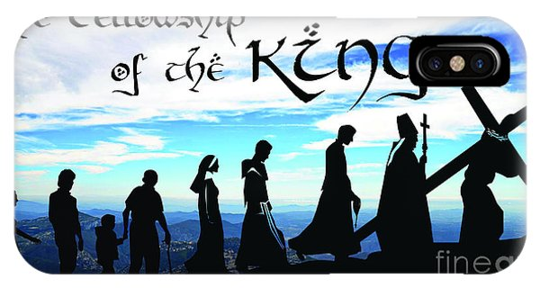 Fellowship Of The King IPhone Case