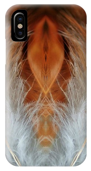 Female Feathers IPhone Case