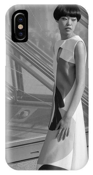 Female Model IPhone Case