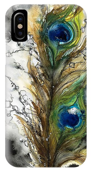 Peacocks iPhone Case - Female by Tara Thelen - Printscapes