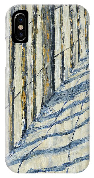 Fence At Palmetto Dunes IPhone Case