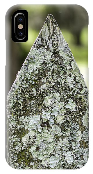 Fence With Moss IPhone Case