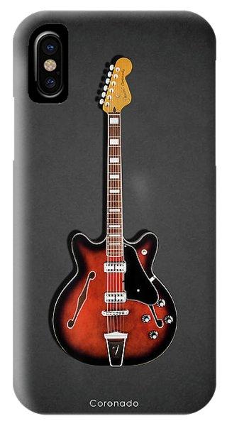 Coronado iPhone Case - Fender Coronado by Mark Rogan