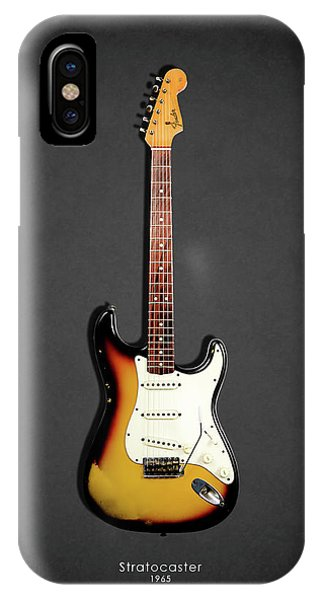 Electric Guitar iPhone Case - Fender Stratocaster 65 by Mark Rogan