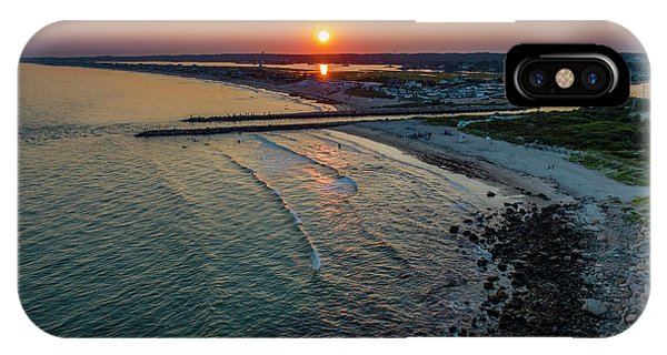 Fenway Beach Sunset IPhone Case