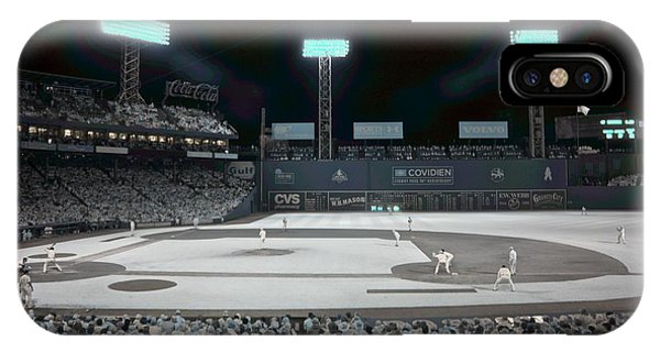 Boston Red Sox iPhone Case - Fenway Infrared by James Walsh