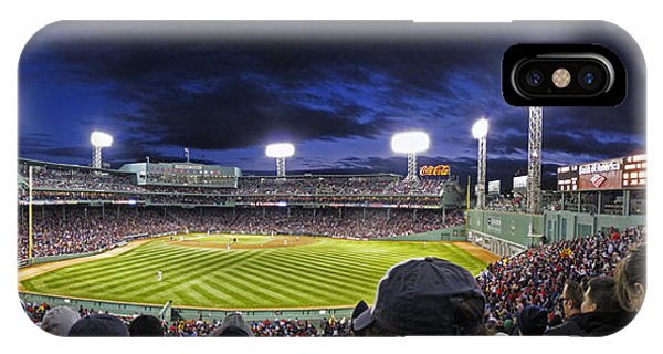 Red Sox iPhone Case - Fenway Night by Rick Berk