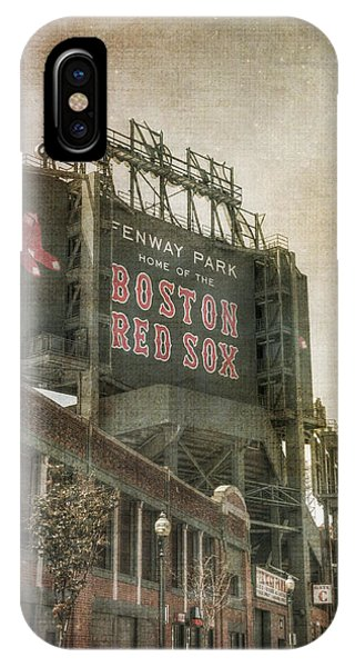 Fenway Park Billboard - Boston Red Sox IPhone Case