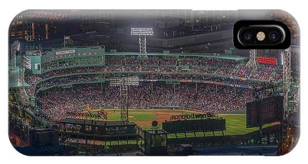 Red Sox iPhone Case - Fenway Park by Bryan Xavier