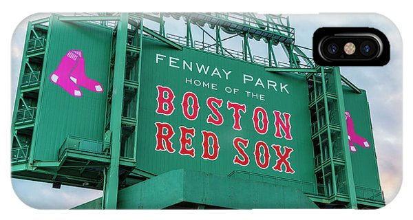 Fenway Park - Home Of The Red Sox IPhone Case