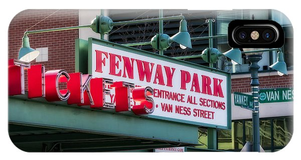 Fenway Park Tickets IPhone Case