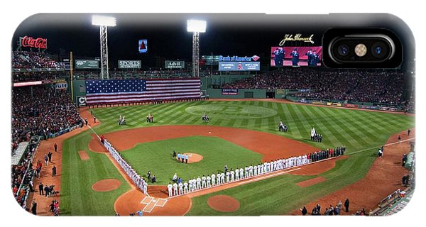 Boston Red Sox iPhone Case - Fenway Park World Series 2013 by Movie Poster Prints