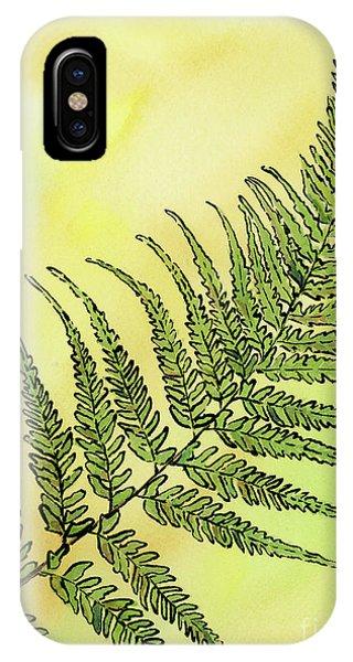 Fern 1 IPhone Case