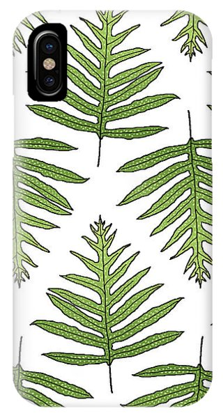 Fern Array IPhone Case