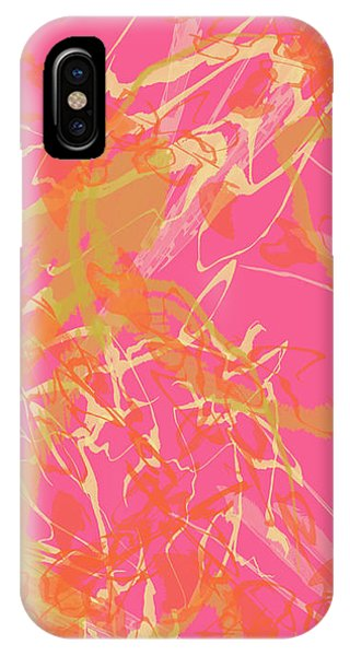 Fern Palette Painting #1 IPhone Case