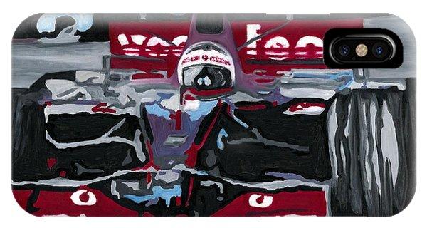 Fernando Alonso Wins Monaco For Mclaren 2008 IPhone Case