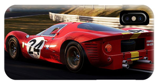 Ferrari 330 P4, Nordschleife - 17 IPhone Case