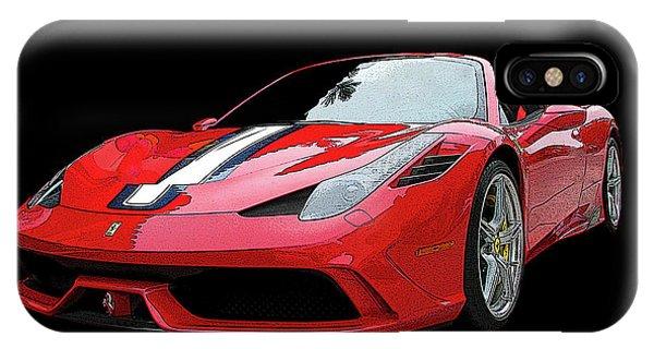Ferrari 458 Speciale Aperta IPhone Case