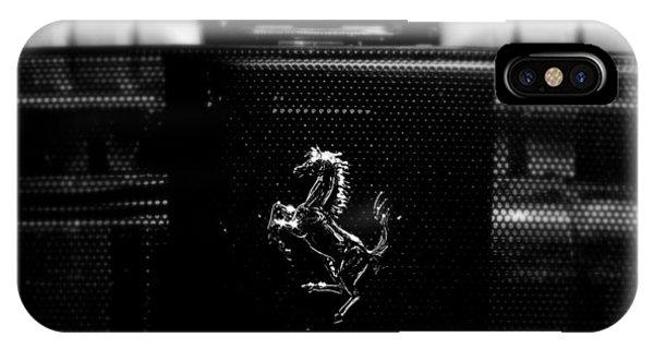 Ferrari Engine Grill IPhone Case
