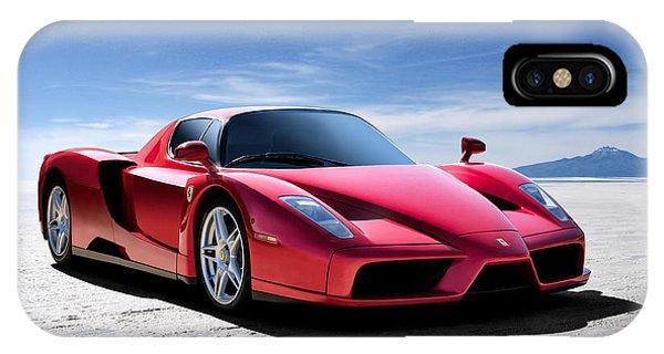 Performance iPhone Case - Ferrari Enzo by Douglas Pittman