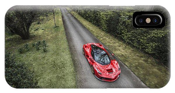 Ferrari Laferrari Country Drive IPhone Case