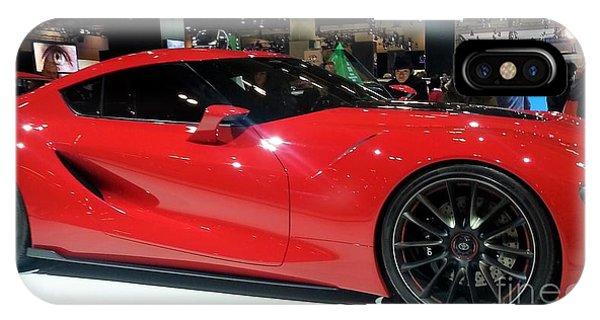 Red Ferrari IPhone Case