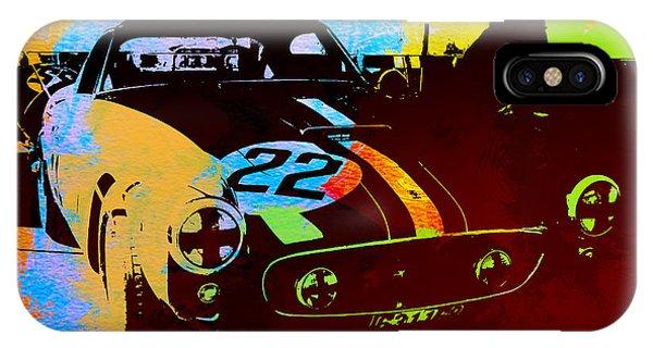 Ferrari Watercolor IPhone Case