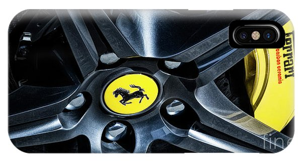Ferrari Wheel I IPhone Case