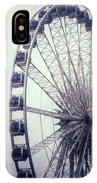 Funfair iPhone Case - Ferris Wheel by Joana Kruse