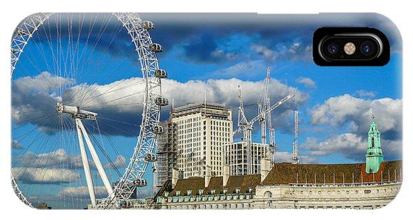 iPhone Case - Ferris Wheel by Ric Schafer